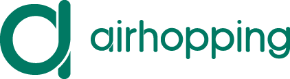 logo airhopping color verde